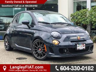 Used 2016 Fiat 500 Abarth NO ACCIDENTS, B.C OWNED for sale in Surrey, BC