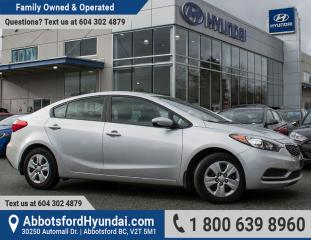 Used 2016 Kia Forte 1.8L LX ACCIDENT FREE for sale in Abbotsford, BC