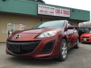 Used 2011 Mazda MAZDA3 GS $87.99 BI WEEKLY! $0 DOWN! CERTIFIED! for sale in Bolton, ON