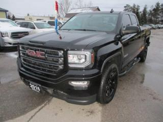 Used 2016 GMC Sierra 1500 WORK READY ELEVATION MODEL 6 PASSENGER 5.3L - V8.. 4X4.. QUAD-CAB.. SHORTY.. AUX/USB INPUT.. BLUETOOTH.. BACK-UP CAMERA.. for sale in Bradford, ON