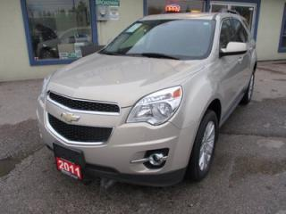 Used 2011 Chevrolet Equinox LOADED 2-LT EDITION 5 PASSENGER 3.0L - V6.. LEATHER.. HEATED SEATS.. PIONEER AUDIO.. CD/AUX/USB INPUT.. POWER TAILGATE.. for sale in Bradford, ON