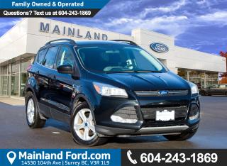 Used 2014 Ford Escape SE NO ACCIDENTS, LOCAL BC, LOW KMS for sale in Surrey, BC