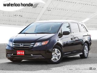 Used 2014 Honda Odyssey LX Bluetooth, Back Up Camera, 7 Passenger and more! for sale in Waterloo, ON