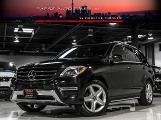 Used 2015 Mercedes-Benz ML 350 AMG|NAVI|BLINDSPOT|360 CAM|BLUETEC|LOADED for sale in North York, ON