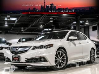 Used 2015 Acura TLX SH-AWD|ELITE PKG|EVERY OPTION|BLINDSPOT|ADAP CRUISE|LANE DEP for sale in North York, ON