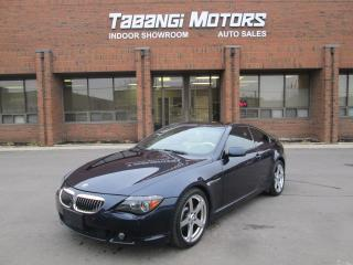 Used 2005 BMW 645 ci SMG LEATHER SUNROOF NAVIGATION PARK ASSIST for sale in Mississauga, ON