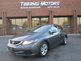 Used 2013 Honda Civic LX HEATED SEATS BACKUP CAMERA for sale in Mississauga, ON