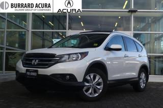 Used 2012 Honda CR-V Touring 4WD Leather & Navigation! for sale in Vancouver, BC