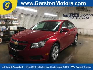 Used 2012 Chevrolet Cruze LT*TURBO*KEYLESS ENTRY w/REMOTE START*HEATED DRIVER SEAT*POWER WINDOWS/LOCKS/MIRRORS*CLIMATE CONTROL* for sale in Cambridge, ON