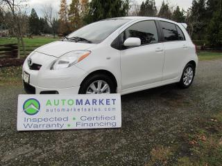 Used 2009 Toyota Yaris RS, Auto, Insp, Free Warr, Finance for sale in Surrey, BC