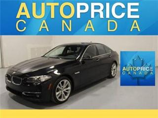 Used 2014 BMW 5 Series X-DRIVE TECH PKG NAVIGATION for sale in Mississauga, ON