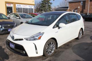 Used 2015 Toyota Prius v Luxury Technology Pkg Panorama Roof for sale in Brampton, ON