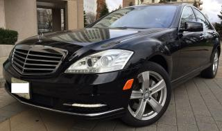 Used 2010 Mercedes-Benz S450 Black Car for sale in North York, ON