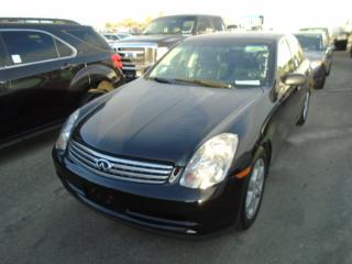 Used 2004 Infiniti G35X for sale in Innisfil, ON