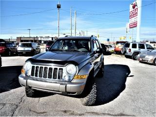 Used 2005 Jeep Liberty 4x4  alloy  auto PW PL PM for sale in Oakville, ON