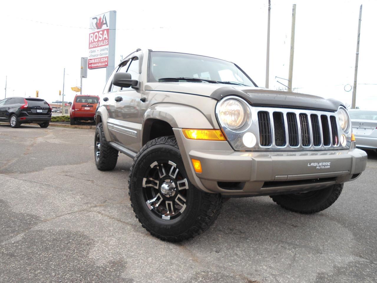 Photo of Gold 2005 Jeep Liberty