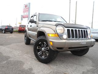 Used 2005 Jeep Liberty 4x4  alloy  auto 2 SETS OF TIRES &RIMS  PW PL PM for sale in Oakville, ON