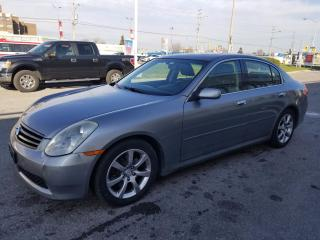 Used 2006 Infiniti G35 Luxury, Leather, Sunroof, Bluetooth, Winter Tires for sale in Scarborough, ON