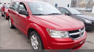 Used 2010 Dodge Journey SE AUTO NO ACCIEDENT CERTIFIED for sale in York, ON