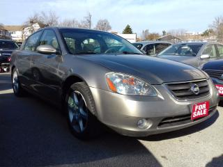 Used 2003 Nissan Altima SE for sale in Scarborough, ON