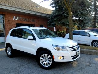 Used 2011 Volkswagen Tiguan Turbo 4Motion  AWD LEATHER PANORAMIC LOW KM CERT for sale in Concord, ON