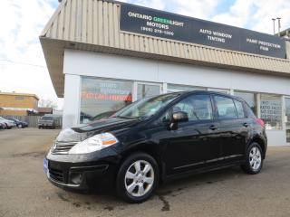 Used 2011 Nissan Versa SL,ALLOYS,USB,IPOD,MP3,WOOD TRIM,LOADED for sale in Mississauga, ON