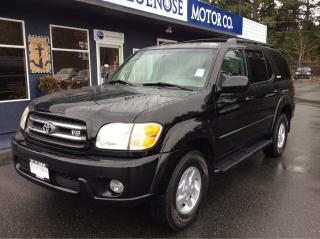 Used 2002 Toyota Sequoia Limited for sale in Parksville, BC