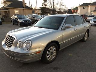 Used 2005 Kia Amanti SAFETY & WARRANTY INCLUDED for sale in Cambridge, ON