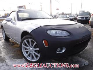 Used 2007 Mazda MX5 MIATA TOURING 2D CONVERTIBLE for sale in Calgary, AB