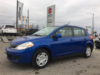 Used 2012 Nissan Versa 1.8 S ~Power Sunroof ~Roomy Interior ~Fuel Economy for sale in Barrie, ON