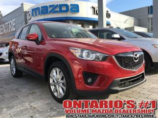 Used 2015 Mazda CX-5 GT AWD, LEATHER, SUNROOF, REVERSE CAM-TORONTO for sale in North York, ON