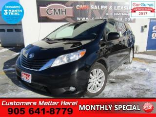 Used 2014 Toyota Sienna XLE 7 Passenger  AWD, LEATHER, SUNROOF, BLINDSPOT for sale in St Catharines, ON