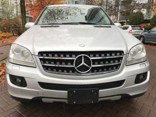 Used 2008 Mercedes-Benz ML-Class DIESE,4 MATIC,LEATHER,SUN ROOF,NAVIGATION.LOCAL for sale in Vancouver, BC