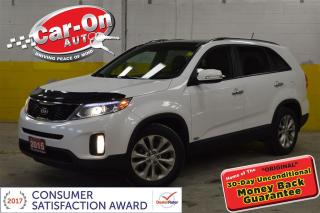 Used 2015 Kia Sorento EX V6 4x4 LEATHER PANO ROOF for sale in Ottawa, ON