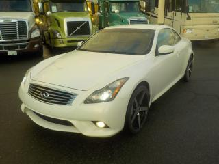 Used 2011 Infiniti G37 S Cabriolet (Convertible) 6 Speed Manual for sale in Burnaby, BC