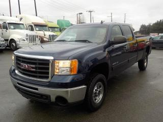 Used 2010 GMC Sierra 2500 HD SLE Crew Cab Long Box 4WD for sale in Burnaby, BC