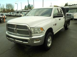 Used 2010 Dodge Ram 2500 Hd SLT Crew Cab Flat Deck 4WD for sale in Burnaby, BC