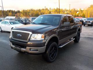 Used 2005 Ford F-150 Lariat SuperCrew Short Box 4WD for sale in Burnaby, BC