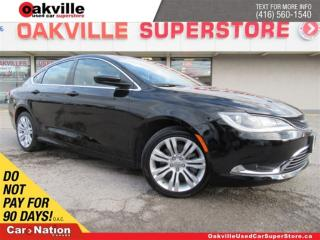Used 2015 Chrysler 200 Limited | BLUETOOTH | B/U CAM | HEATED SEATS for sale in Oakville, ON