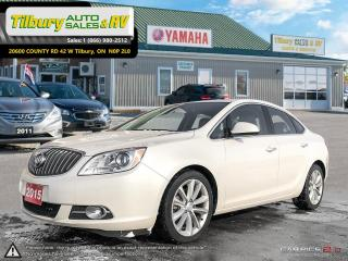 Used 2015 Buick Verano REVERSE CAM. HEATED SEATS. BOSE SOUND. for sale in Tilbury, ON