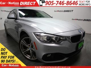 Used 2014 BMW 428i xDrive| RED LEATHER| SUNROOF| NAVI| for sale in Burlington, ON