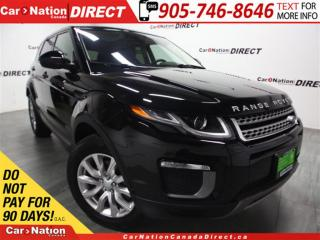 Used 2016 Land Rover Evoque SE| PANO ROOF| LEATHER| BACK UP CAMERA| for sale in Burlington, ON