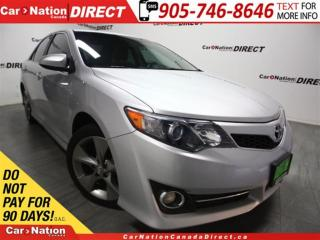 Used 2012 Toyota Camry SE| LEATHER| SUNROOF| TOUCH SCREEN| for sale in Burlington, ON