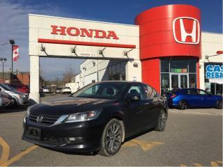 Used 2014 Honda Accord Sedan Sport, one owner car, clean carproof for sale in Scarborough, ON