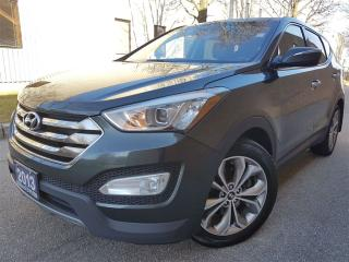 Used 2013 Hyundai Santa Fe Sport 2.0T Limited-Navi-Excellent maintenence records! for sale in Mississauga, ON