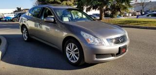 Used 2009 Infiniti G37 Sedan Luxury AWD for sale in Concord, ON