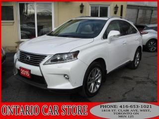 Used 2015 Lexus RX 350 AWD EXECUTIVE PKG. NAVI. HUD BACK UP CAM for sale in Toronto, ON