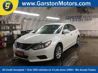 Used 2016 Nissan Altima S*CVT*PHONE CONNECT*KEYLESS ENTRY w/REMOTE START*PUSH BUTTON TO START*POWER DRIVER SEAT*CLIMATE CONTROL* for sale in Cambridge, ON