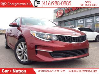 Used 2017 Kia Optima LX+ | BACK-UP CAMERA | HEATED SEATS | ALLOY WHEELS for sale in Georgetown, ON