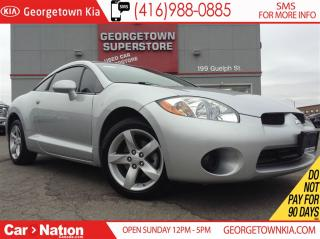 Used 2008 Mitsubishi Eclipse GS | SUNROOF | HEATED SEATS | 124,919KMS for sale in Georgetown, ON